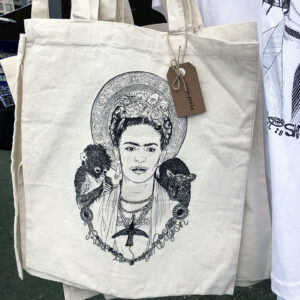 citrine press tote bag